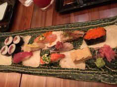 お寿司の盛り合わせ@INAGIKU MAKATI SHANGRI LA HOTEL
