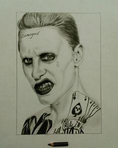 Joker Pencil in paper