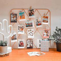 Quarto Tumblr: 65 ideias para transformar o seu espaço Office Wallpaper, Home Office, New Room, Embellishments, Photo Wall, Gallery Wall, Dream Big, House Design, Frame