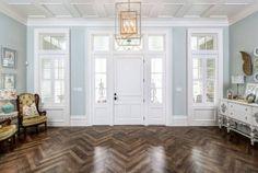 Herringbone wood floor. Herringbone wood floor types. Herringbone wood flooring is Hickory. Herringbone wood floor. #Herringbonewoodfloor #Herringbonewoodflooring Artisan Signature Homes.
