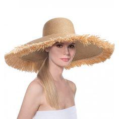 Floppy With Fringe - Spring   Summer - Headwear - Eric Javits 7196c569b3cd