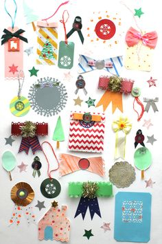 Hello Sandwich x Martha Stewart Crafts Japan Christmas --- fabulous xmas ribbons