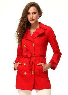 Stil Aşkı: Kırmızı ve Beyaz Buluşması Kaban Markafoni'de 179,97 TL yerine 59,99 TL! Satın almak için: http://www.markafoni.com/product/4733682/ #summer #fashion #dress #moda #elbise #girl #model #fashion #red #kırmızı #white #beyaz