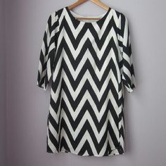 Chevron Everly dress Gently worn. Excellent condition.   Bundle for best deals! Hundreds of items available for discounted bundles! You can get lots of items for a low price and one shipping fee!  Follow on IG: @the.junk.drawer Everly Dresses