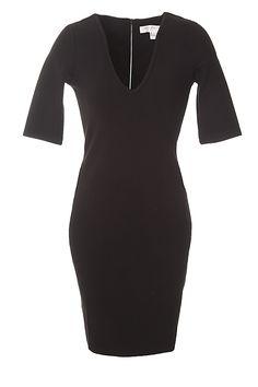 Valentine Viscose Black Dress - French Connection