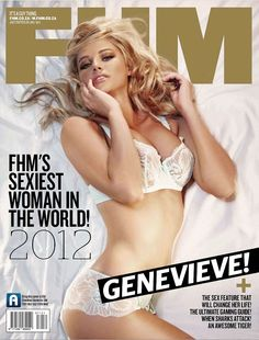Genevieve Morton FHM's sexiest woman in the world - 2012
