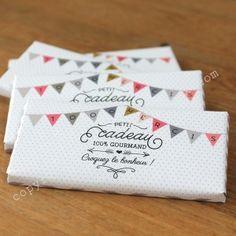 La tablette de chocolat personnalisée mariage - Les Petits Cadeaux