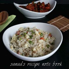 Egg Fried Rice - sanaa's recipe