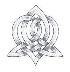 """the """"Triquetra"""", celtic symbol for sisters..this is the the tattoo I want to get with my sis <3 too bad it will never happen, she won't even pierce her ears... oh well."""