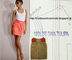 MOLDE DE SAIA TULIPA
