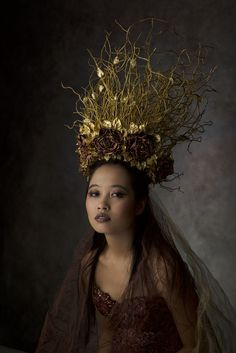 "darkbeautymag: "" Photographer/Wardrobe/Makeup: Agnieszka Jopkiewicz Model: Lisa Nguyen """