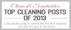 Top Cleaning Projects of 2013 - Clean and Scentsible