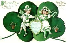 Shop Vintage Children Shamrock Souvenir St Patrick's Postcard created by kinhinputainwelte. Personalize it with photos & text or purchase as is! St Patrick's Day, St Patricks Day Cards, Happy St Patricks Day, Saint Patricks, Vintage Greeting Cards, Vintage Postcards, Fete Saint Patrick, Erin Green, Irish Baby Names