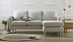 We have a great range of fabric lounges & sofas available online or at one of our many metro stores in Melbourne, regional Victoria, Sydney, Canberra and Adelaide. Value Furniture, Bedroom Furniture, Regional, Lounge Suites, Beige Sofa, Black And White Interior, Leather Lounge, Lounge Sofa, Sofa Bed
