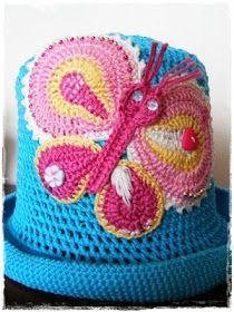 Fizule71: Letní klobouček a tropický motýl