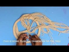DIY 'TREE OF LIFE' DREAM CATCHER | Make a dream catcher from scratch | Easy DIY - YouTube