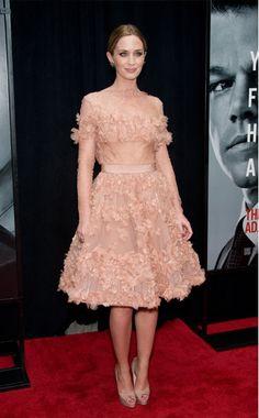 Ten Best Dressed — Emily Blunt in Elie Saab Couture