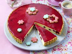 motherday´s cherry blossom tarte