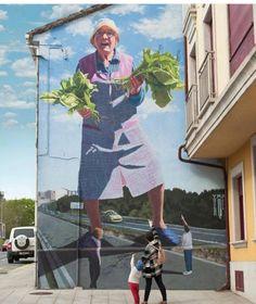 Street Art by Yoshiba, located in Spain