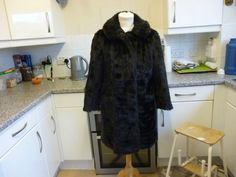 Vintage Fashionable Mini Barmink Faux Fur Coat @70.00
