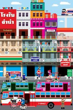 CITIES OF THE WORLD / Bangkok - Hello I am JK