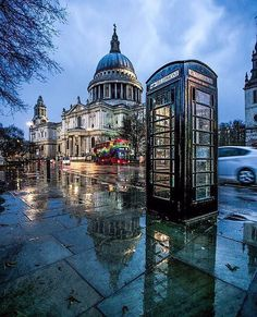 Rainy Day - London, England