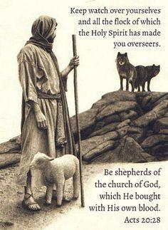 Acts 20:28   by joshtinpowers