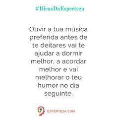 Boa noite ;)  esperteza.com #DicasDaEsperteza #musica #dormir  #humor #insta #instame #instagram