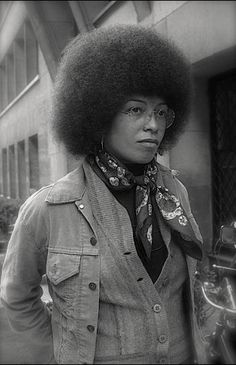Today In History 'Angela Davis, author, activist, and professor was born in Birmingham, AL, on this date January 26, 1944.' - CARTER Magazine