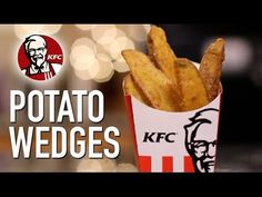 KFC Potato Wedges - Hellthy Junk Food