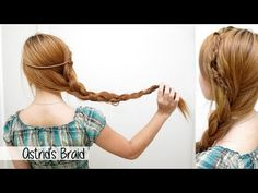 Here's a hair tutorial inspired by Astrid's braided hairstyle from the movie, How to Train Your Dragon 2. It is a fun and unique irregular side braid with a ...