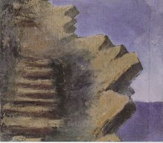 Mikalojus Konstantinas Čiurlionis (1875-1911), Lithuanian painter and composer. Quite obviously Tolkien got his inspiration for Middle-earth from Čiurlionis' paintings. The Stairs of Cirith Ungol.