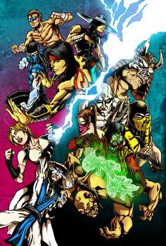 BA- Mortal Kombat Tribute by: Young-Art on deviantART