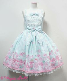 Angelic Pretty Romantic Rose Letter JSK in any JSK cut, any color