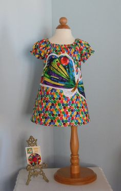 Butterfly Peasant Dress with Hair Clip  Very by RennyClothing, $45.00