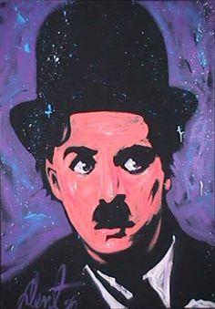 Charlie Chaplin by Denny Dent