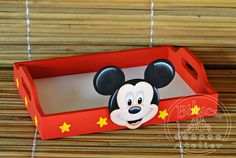 Mickey Party, Mickey Mouse Birthday, Mickey Mouse Gifts, Mickey Mouse Parties, Birthday Crafts, 2nd Birthday, Micky Mouse Club House, Baby Gift Wrapping, Baby Girl Halloween Costumes