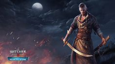 Wallpaper the witcher 3: wild hunt hearts of stone warrior olgierd 1920x1080