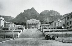Photo of UCT Campus Cape Town in the 1930s.