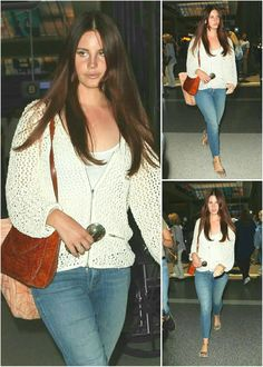 Lana Del Rey at LAX on her way to Belgium for a show #LDR