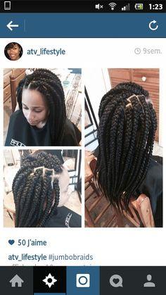 Jumbo braids