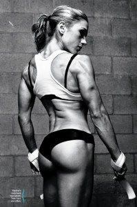 Toning your bottom... The rest is to muscular for me...