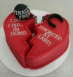 Best decision I made in 16 years. Broke away from his abuse and life is good ? Cupcakes, Cupcake Cakes, Divorce Memes, Divorce Funny, Cake Designs Images, Divorce Party, Divorce Papers, Cakes For Women, Novelty Cakes