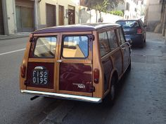 Innocenti Mini T (traveller) Mini Countryman, Mini Clubman, Classic Mini, Classic Cars, Mini Lifestyle, Mini Vans, Mini Stuff, Ford Capri, Mini Things