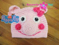 Caciula Peppa Pig by Anamaria Ami