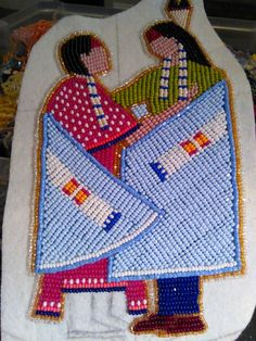 Native Beading Patterns, Beadwork Designs, Loom Patterns, Indian Beadwork, Native Beadwork, Native American Beadwork, Native American Patterns, Native American Crafts, Beading Projects