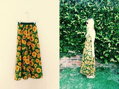 Julianne Sunflower Maxi