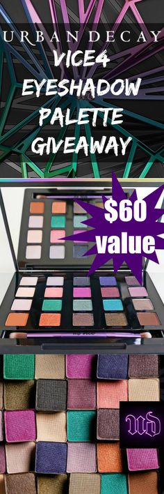 GIVEAWAY Urban Decay Vice4 Eyeshadow Palette Giveaway from @beautystat http://beautystat.com/site/makeup/review-swatches-shades-urban-decay-cosmetics-vice-4-eyeshadow-palette-holiday-makeup-collection-2015/ (ends 11/12/15) ColorUnleashed bstat