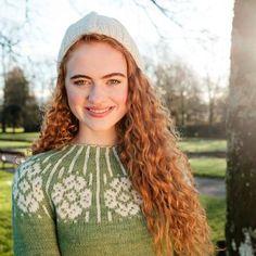 Beautiful Colorwork Sweater Knitting Kit, made using natural Irish yarn Knitting Kits, Yarn Colors, Mittens, Irish, Natural, Sweaters, Beautiful, Collection, Fingerless Mitts