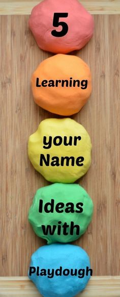 Learning your name activities can be fun and playful with this playdough ideas. Preschool Names, Preschool Kindergarten, Preschool Learning, Toddler Preschool, Toddler Activities, Learning Activities, Kids Learning, Preschool Ideas, Feelings Preschool